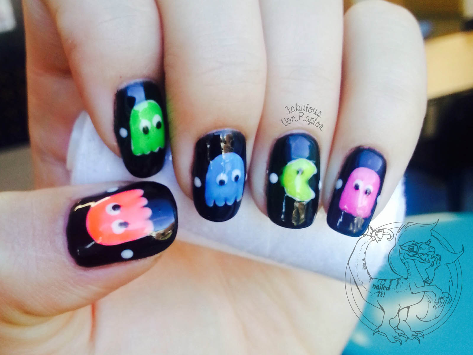 Game fabulous von raptor fabulous von raptor pacman manicure prinsesfo Image collections
