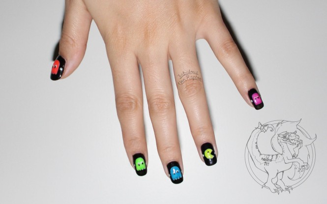 Fabulous Von Raptor - Pacman Manicure