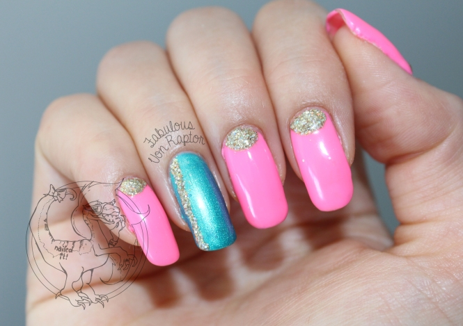 Fabulous Von Raptor - Glitter Pop'N'Lock