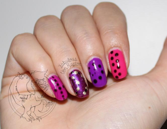 Fabulous Von Raptor - Jewel Tone Braille