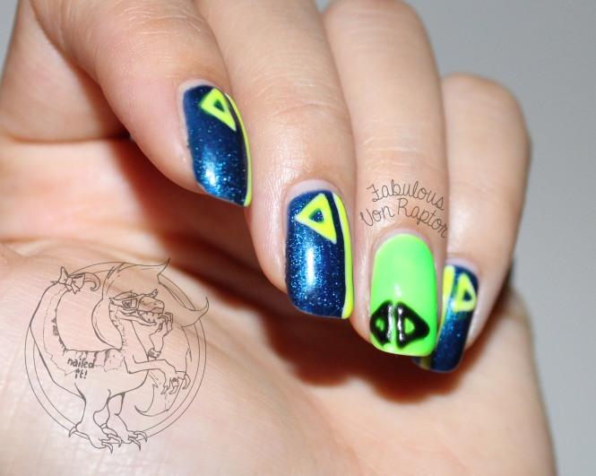 Fabulous Von Raptor - Sneaky Sneaker Nails