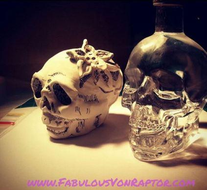 Fabulous Von Raptor - Skull Inspiration (image taken from my Instagram account)