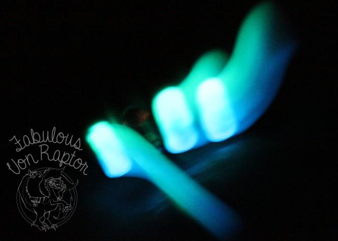 Fabulous Von Raptor - Glowing Kyptonite Ombre