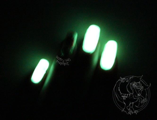 Fabulous Von Raptor - Glowing Nuclear Girl Power