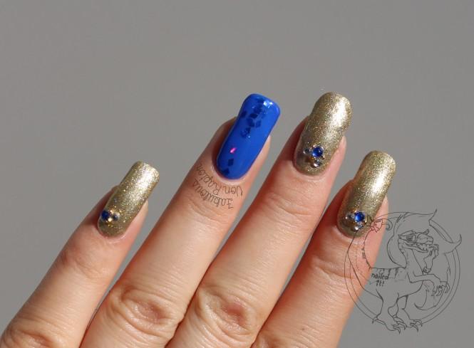 Fabulous Von Raptor - Rhinestone Holo Glitter