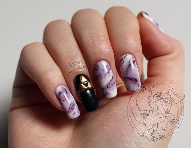 Fabulous Von Raptor - Marble Nerd Fresco