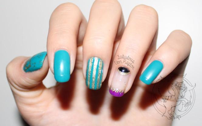 Fabulous Von Raptor - Arabian Nails